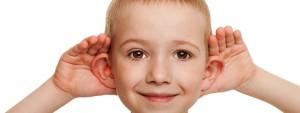 hearing kid